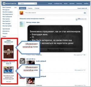 Таргетированные объявления «ВКонтакте» и как на них заработать