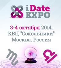 iDate Expo 2014 - выставка-конференция онлайн-знакомств и развлечений