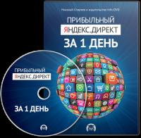 Партнерка мультимедийного курса «Прибыльный Яндекс.Директ за 1 день»